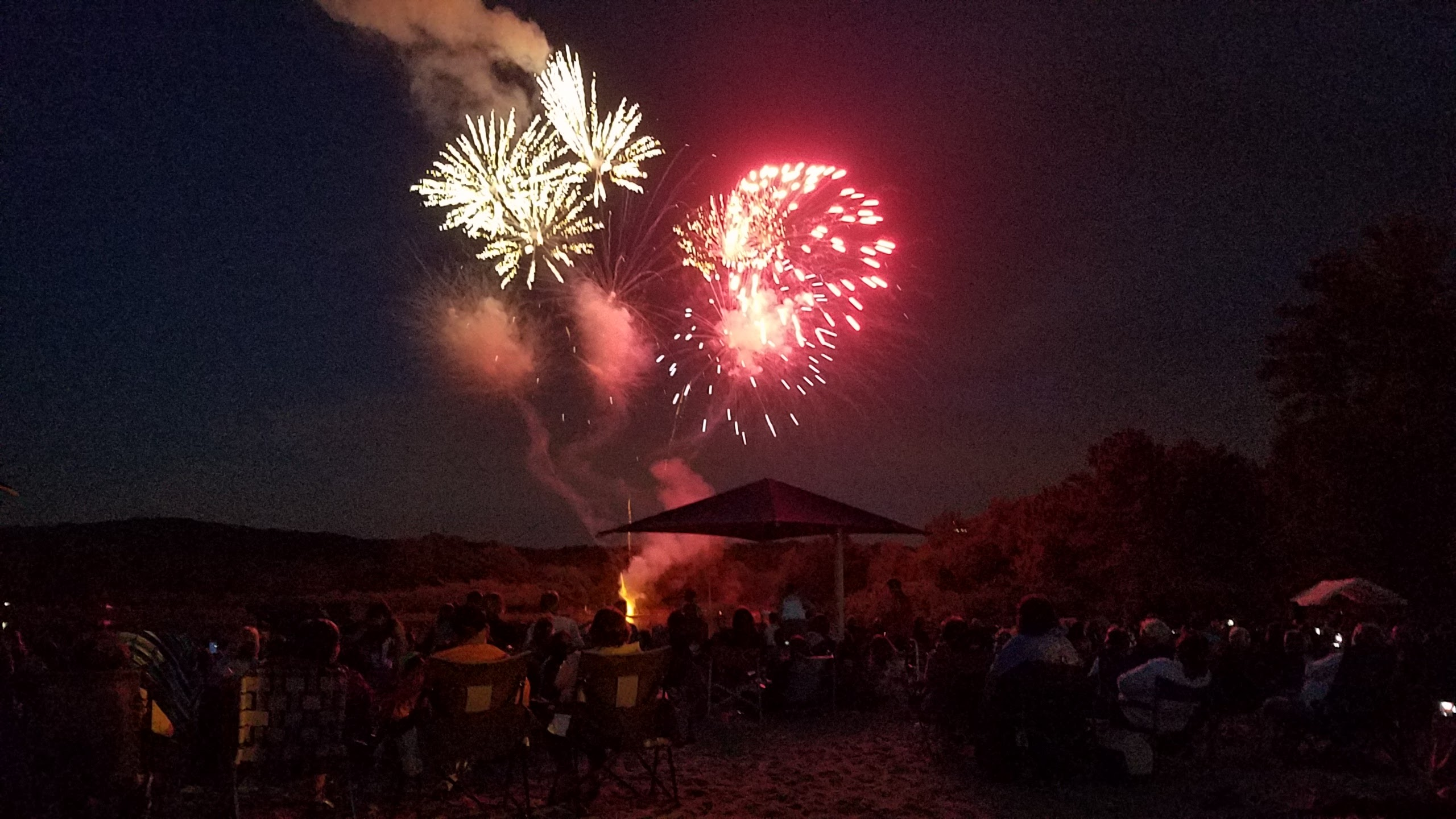 Fireworks at Roxbury Beach Blast 2016
