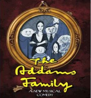 The Adams Family musical comedy at Roxbury High School
